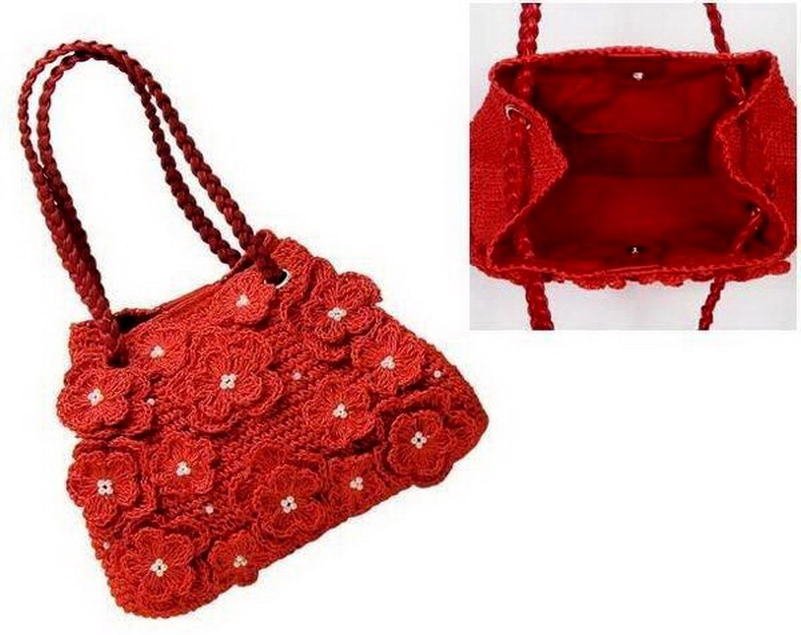 Мастер-класс по вязанию детской сумочки для девочки.  Мастер-класс содержит описание, схема вязания и пример...