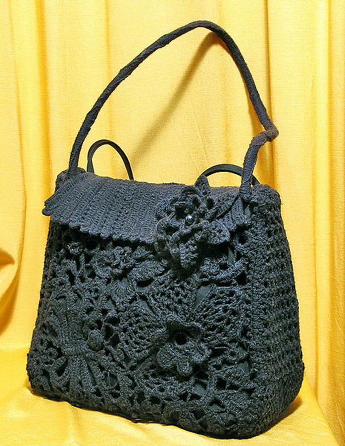 Фото и схемы сумок